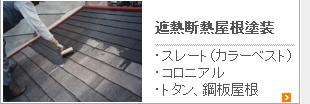 遮熱断熱屋根塗装